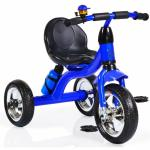 Tricicleta cu roti din cauciuc Byox Cavalier Blue