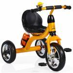Tricicleta cu roti din cauciuc Byox Cavalier Gold