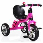 Tricicleta cu roti din cauciuc Byox Cavalier Pink