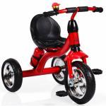 Tricicleta cu roti din cauciuc Byox Cavalier Red