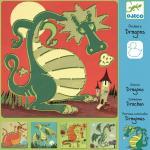 Sabloane Djeco  Dragoni