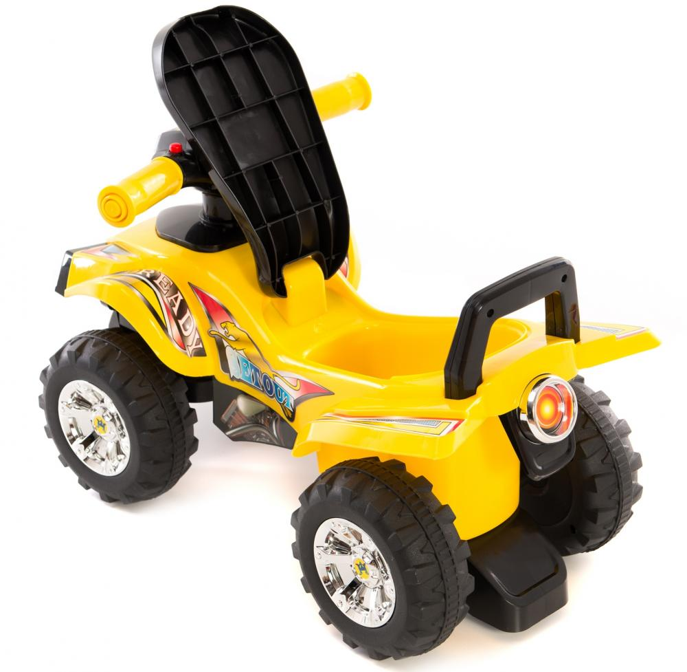 ATV fara pedale Kika Ride Yellow