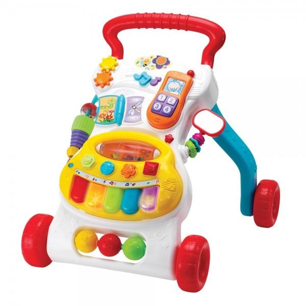 Antepremergator bebelusi Winfun cu minipian detasabil si telefon imagine