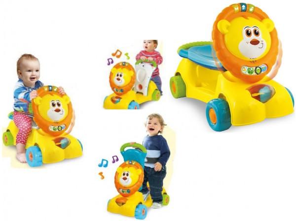 Antepremergator bebelusi vehicul impins si trotineta Winfun model Leu