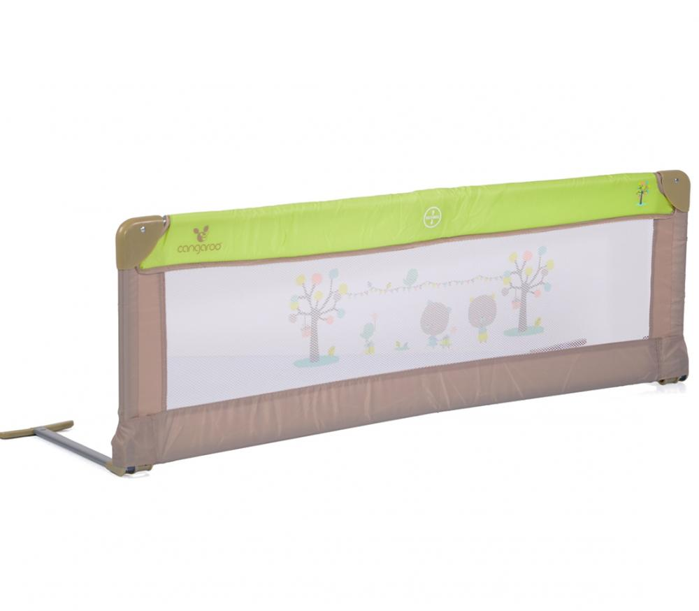 Bariera de protectie pentru pat Bed Rail Cangaroo Green imagine