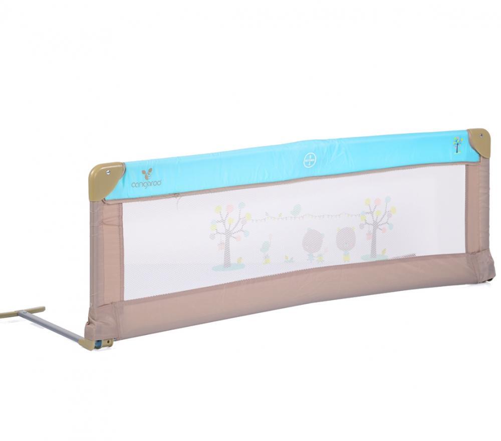 Bariera de protectie pentru pat Bed Rail Cangaroo Turquoise