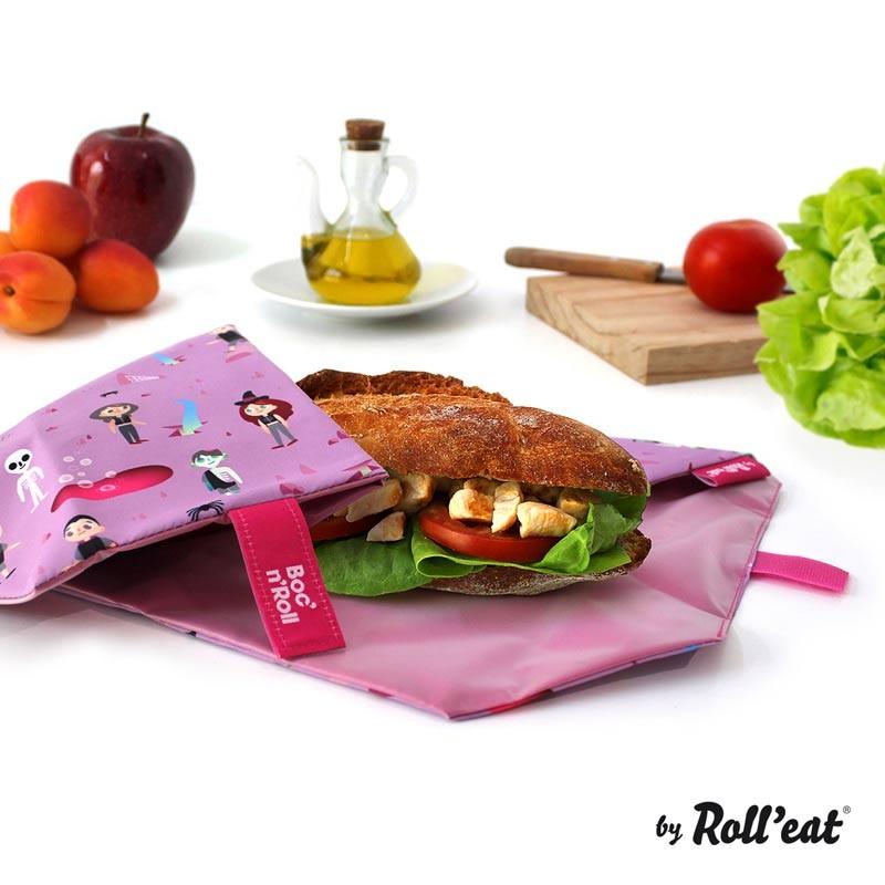 Ambalaj Reutilizabil Pentru Sandwich Boc N Roll Kids Fantasy