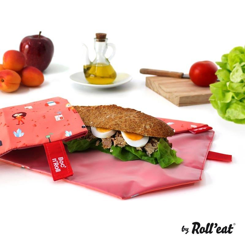 Ambalaj reutilizabil pentru sandwich Boc n Roll Kids Space