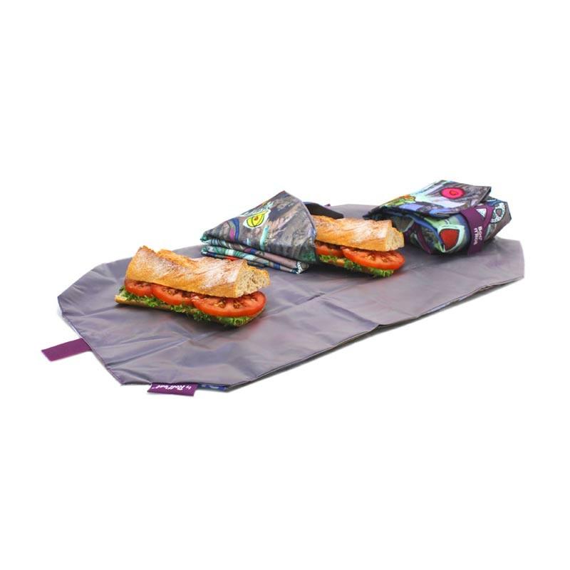Ambalaj reutilizabil pentru sandwich Boc n Roll Teens Girls Bicycle