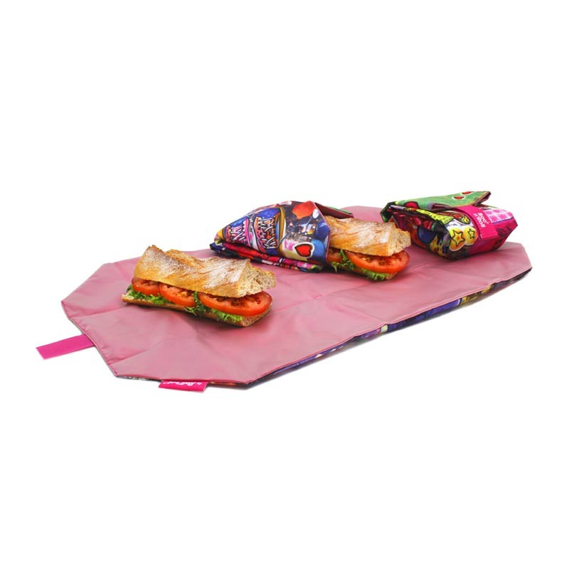Ambalaj Reutilizabil Pentru Sandwich Boc N Roll Teens Girls Giraffe