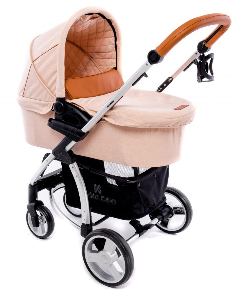 Carucior 3 in 1 Madrid Melange Beige