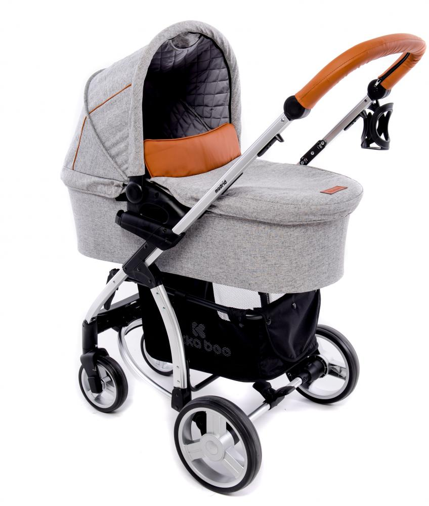 Carucior 3 in 1 Madrid Melange Grey