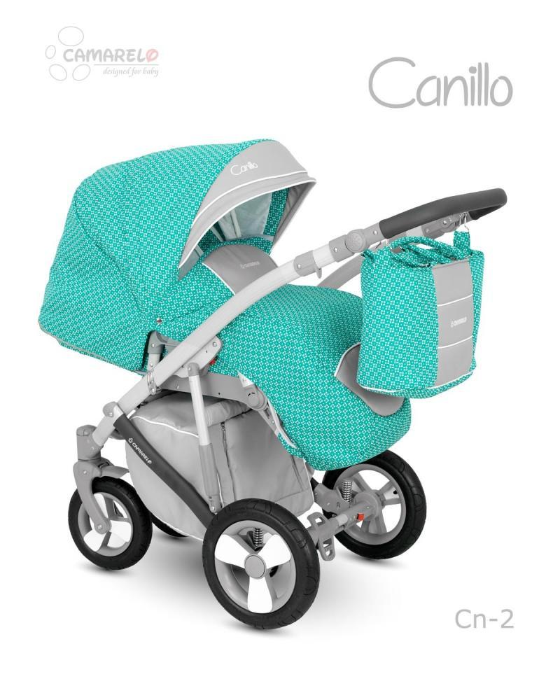 Carucior copii 2 in 1 Canillo Camarelo Color cn-2