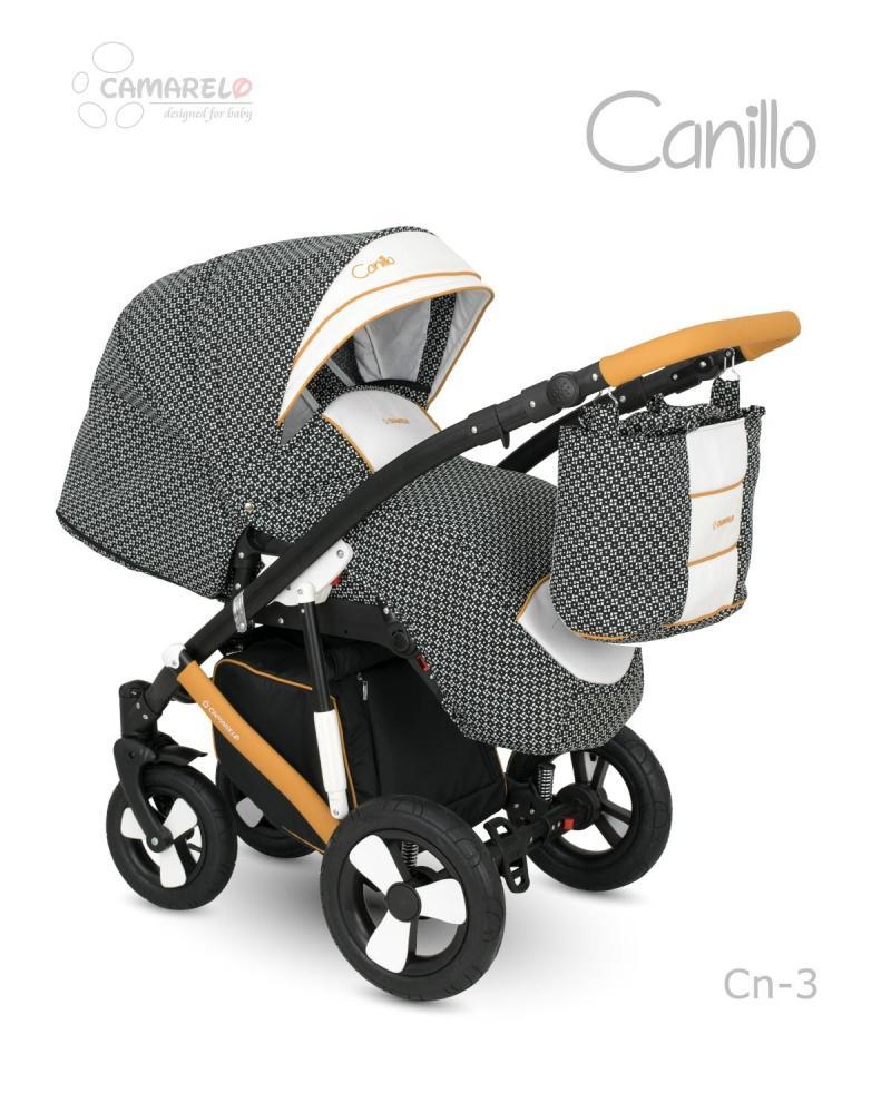 Carucior copii 2 in 1 Canillo Camarelo Color cn-3