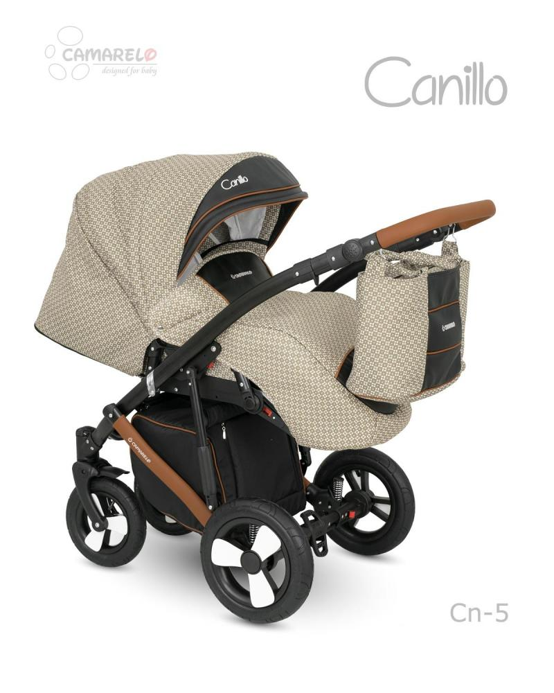 Carucior copii 2 in 1 Canillo Camarelo Color cn-5