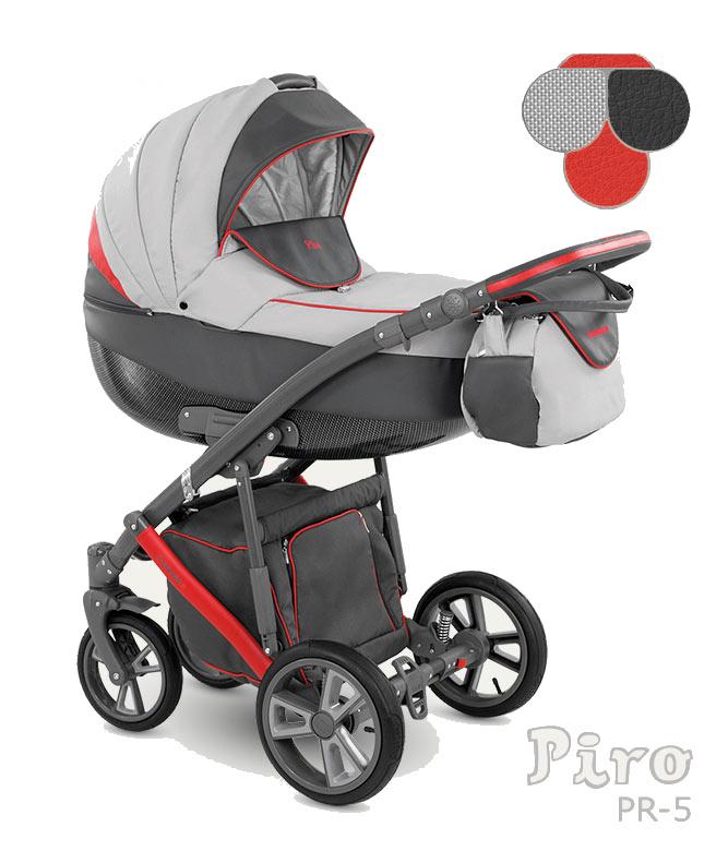 Carucior Copii 2 In 1 Piro 2017 Camarelo Color Pr-5