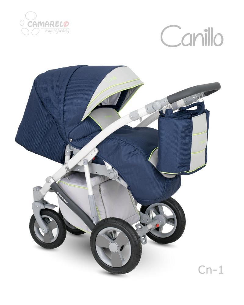 Carucior copii 3 in 1 Canillo Camarelo Color cn-1