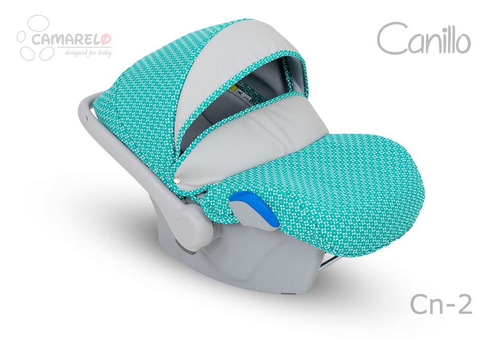 Carucior copii 3 in 1 Canillo Camarelo Color cn-2