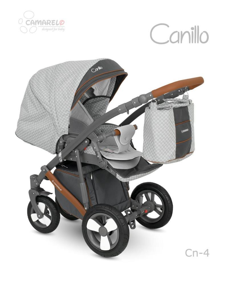 Carucior copii 3 in 1 Canillo Camarelo Color cn-4