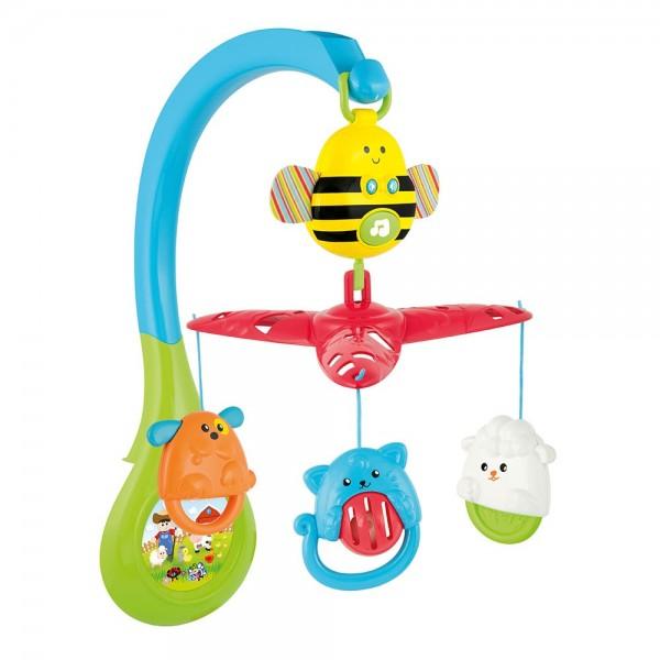 Carusel muzical 3 in 1 Winfun pentru patut cu jucarii detasabile din categoria Camera copilului de la WINFUN