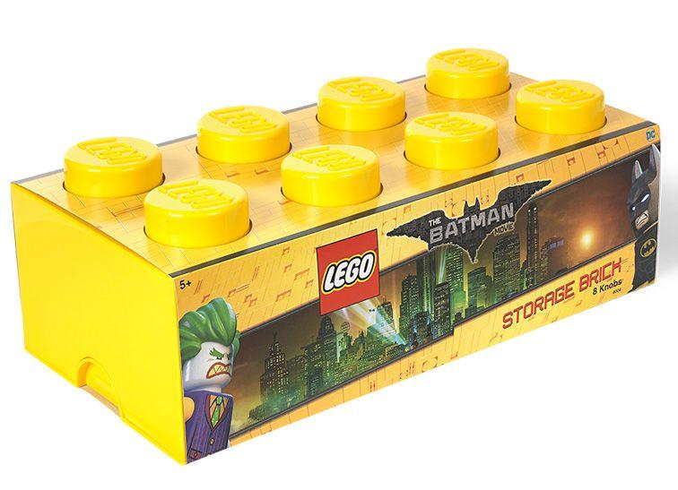 Cutie depozitare Lego Batman 2x4 galben