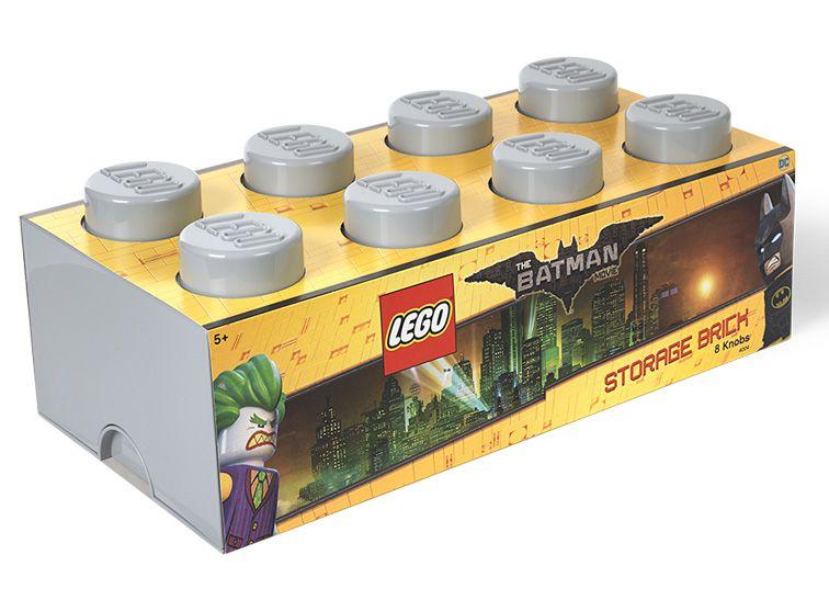 Cutie depozitare Lego Batman 2x4 gri