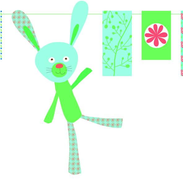 Decoratie lant petrecere copil Djeco