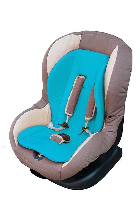 Husa antitranspiratie pentru caruciorscaun auto Renis Turquoise