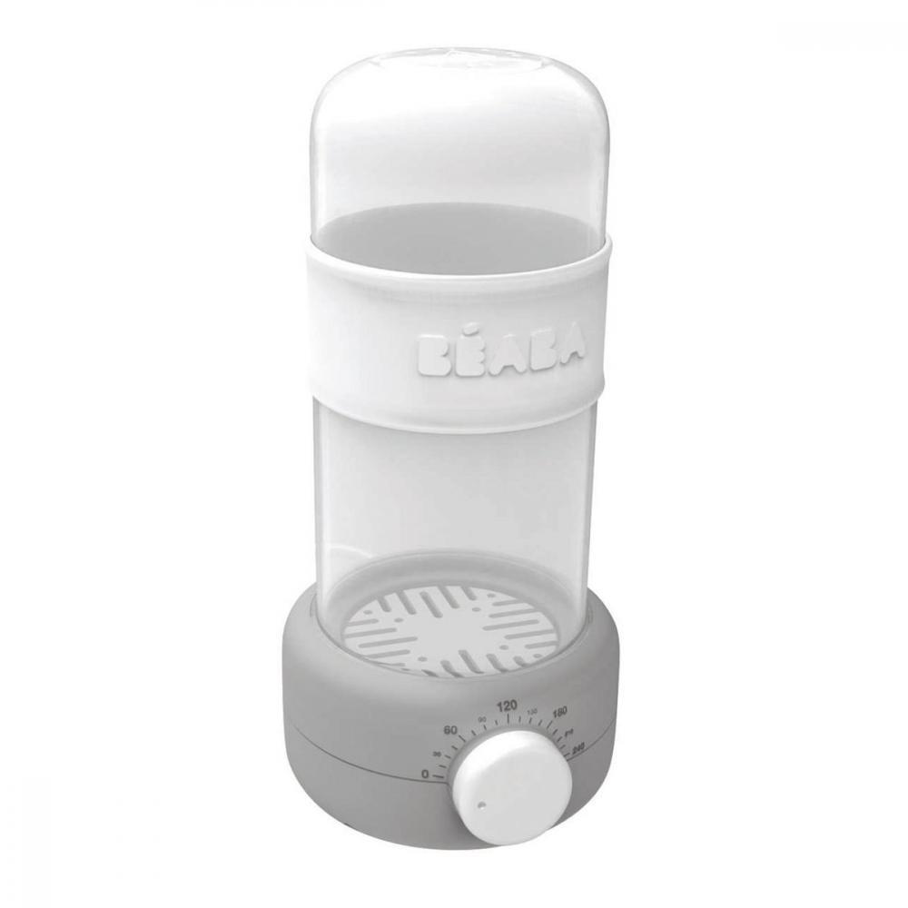 Incalzitor biberoane si sterilizator Baby Milk Secong Gri imagine