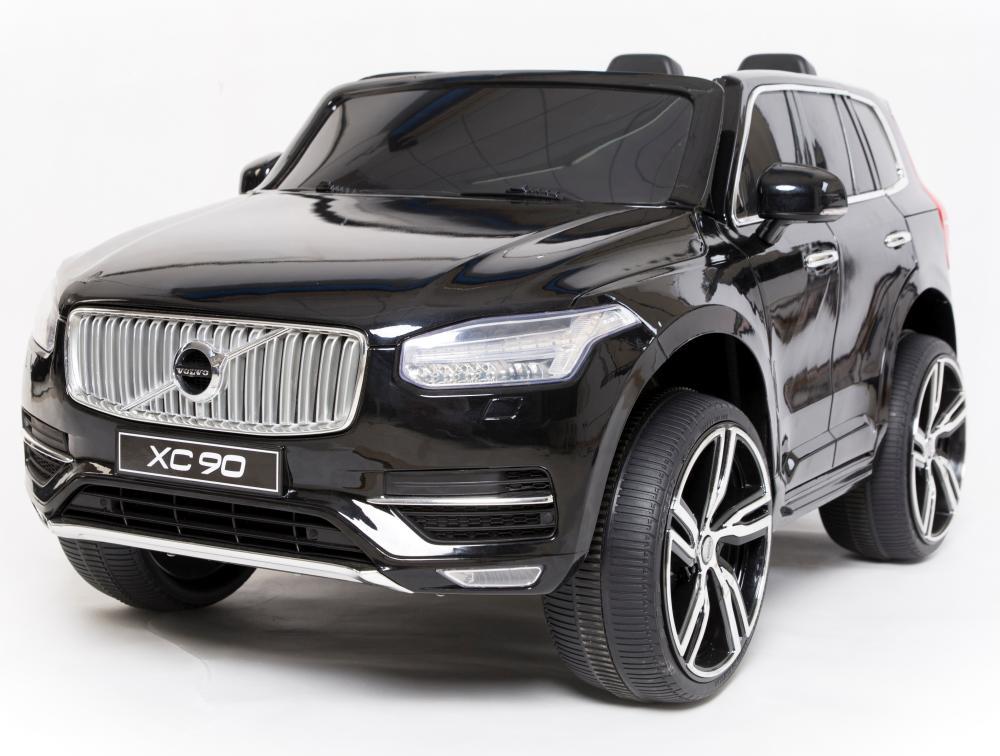 Masinuta Electrica Cu Scaun De Piele Volvo Xc90 Black