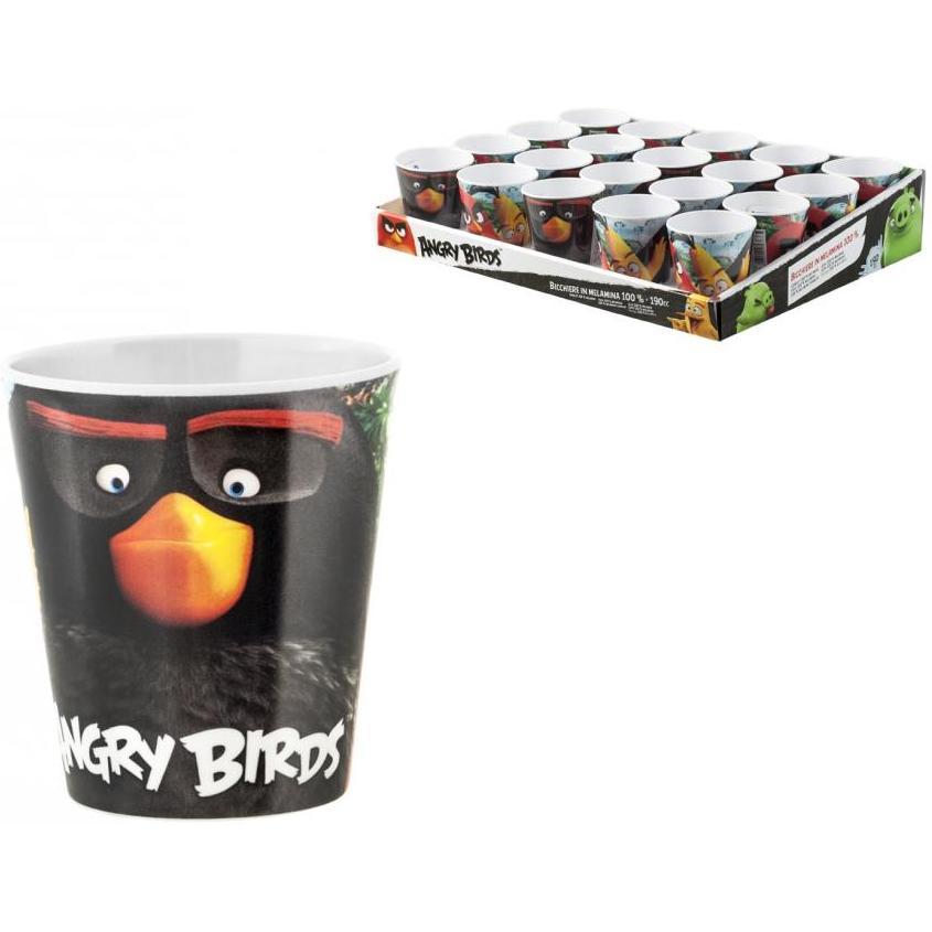 Pahar melamina Angry Birds Lulabi 8161567 imagine