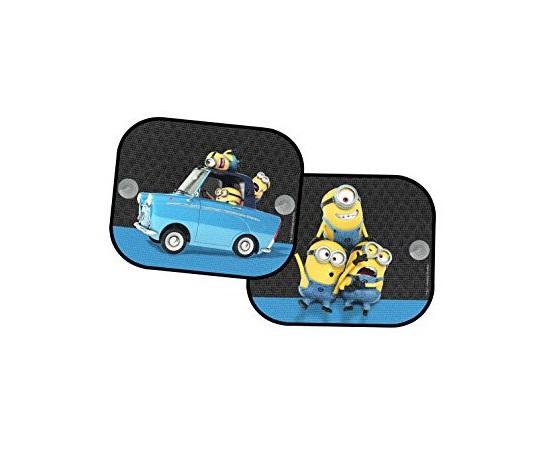 Parasolar auto cu ventuza Minion 2bucset Kaufmann
