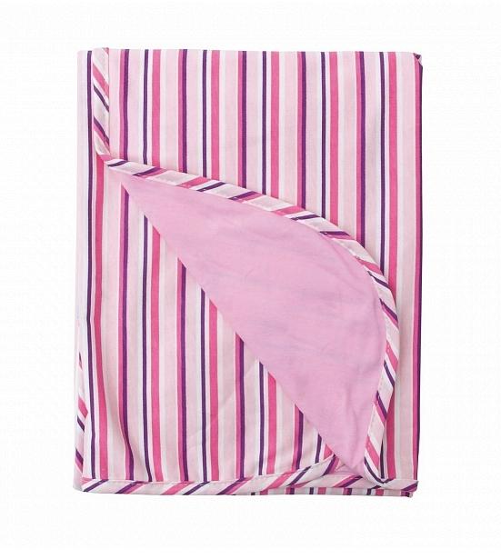 Patura de vara din bumbac 75x100 Ines Pink