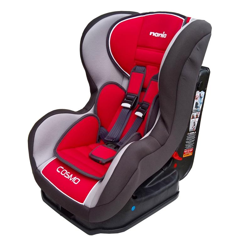 Scaun auto COSMO Grey-Red, 0-18 kg - Nania