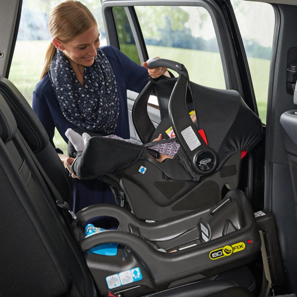 Scaun auto Junior Baby Snugfix Extrem Black