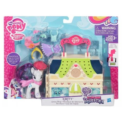 Set My Little Pony Magazinul lui Rarity