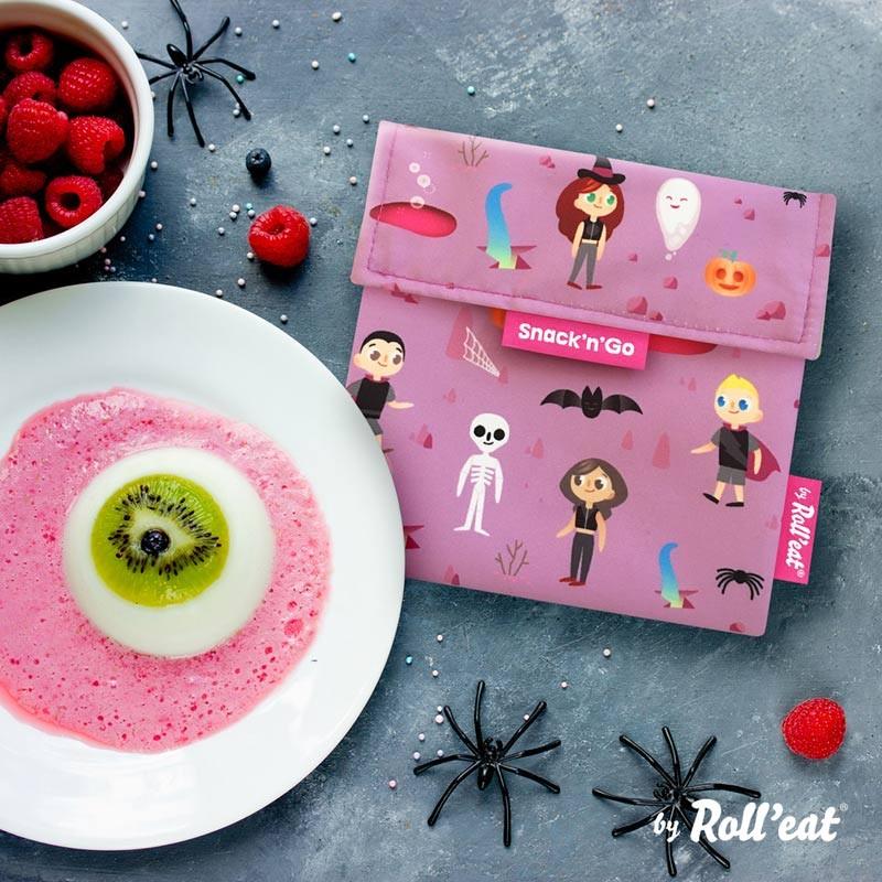 Gentuta Reutilizabila Pentru Gustari Snack N Go Kids Fantasy