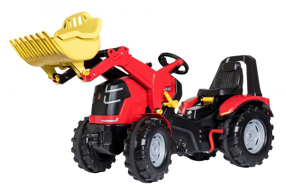 Tractor cu pedale X-Trac Premium cu cupa