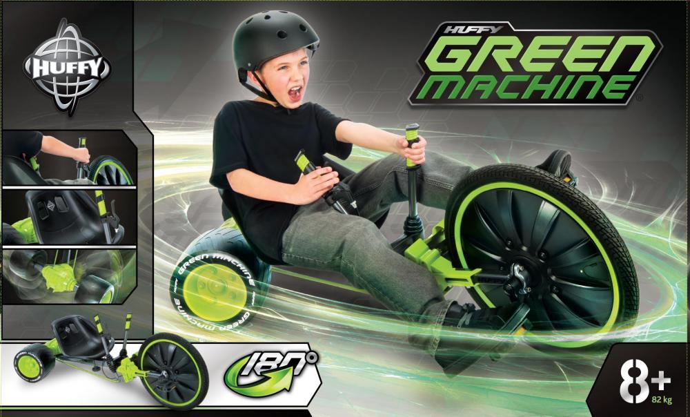 Tricicleta Green Machine imagine