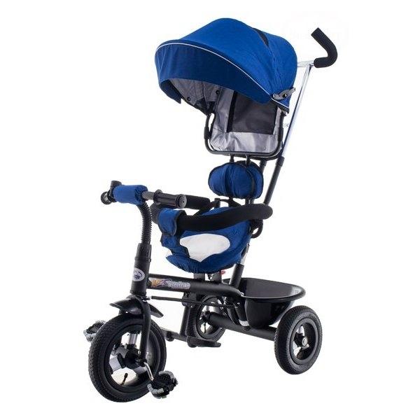 Tricicleta cu scaun rotativ EURObaby T306E-1 albastru