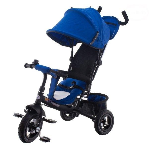 Tricicleta cu scaun rotativ EURObaby T306F albastru