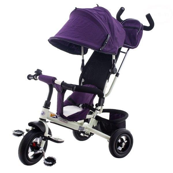 Tricicleta cu scaun rotativ EURObaby T306F violet