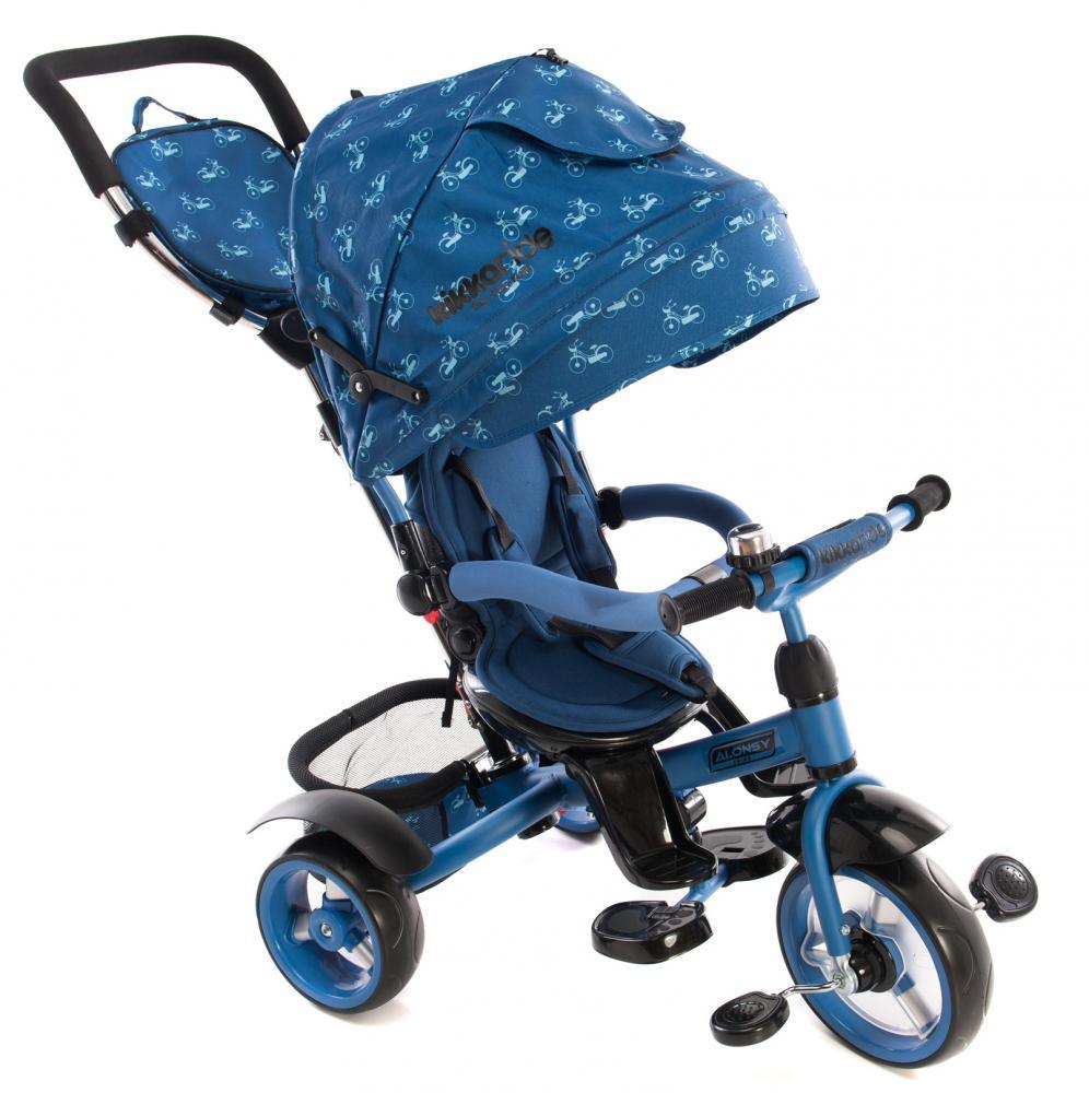 Tricicleta multifunctionala Alonsy Blue Bikes