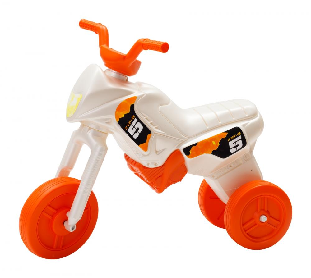 Tricicleta pentru copii Enduro Maxi 19 alb portocaliu