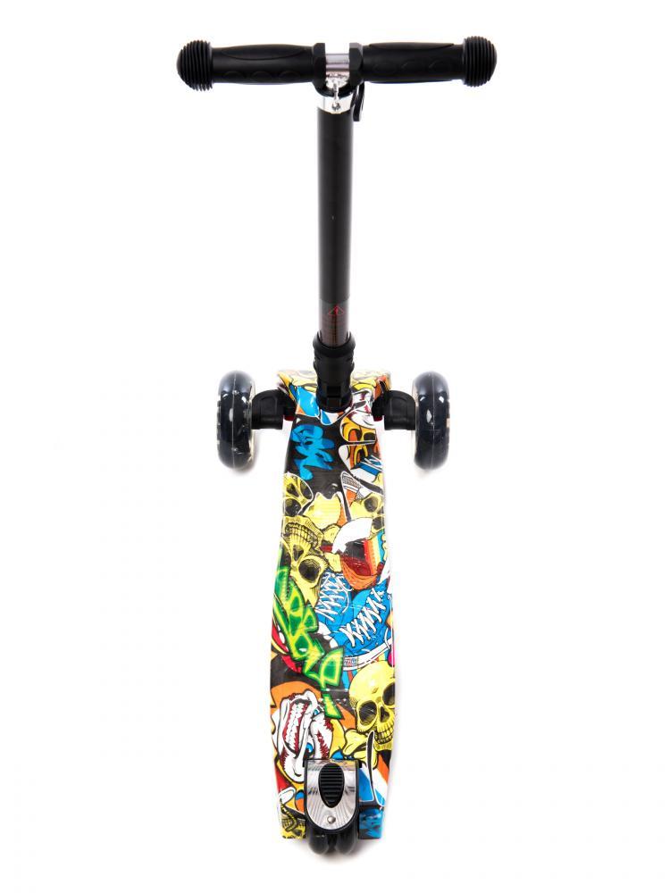 Trotineta pliabila cu lumini Graffiti Skate