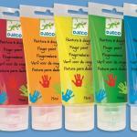6 culori de pictat cu mana Djeco