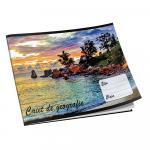 Caiet capsat, scolar RTC, landscape, 24 file, geografie