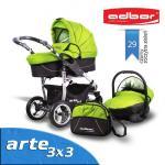 Carucior 3 in 1 Adbor Arte 3X3 ADB29A