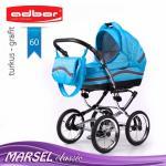 Carucior 3 in 1 Adbor Marsel Clasic adb60
