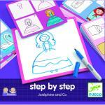 Deseneaza pas cu pas  pentru fete